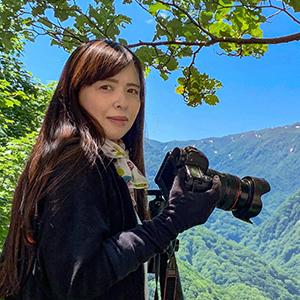 女性風景写真家高松ミミ