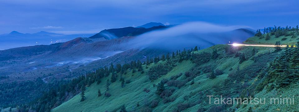 女性風景写真家高松ミミ Landscape photographer Takamatsu mimi